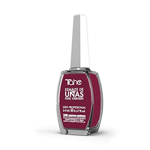 Tahe Nail Varnish Esmalte de Uñas, color Framboise, 14 ml