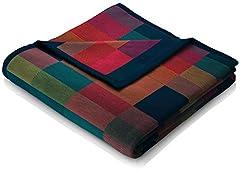 biederlack® flauschig-weiche Kuschel-Decke aus Baumwolle