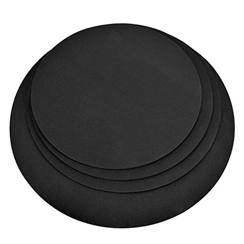 4 Pack Drum Mute Pads, Fits 12,13,14,16