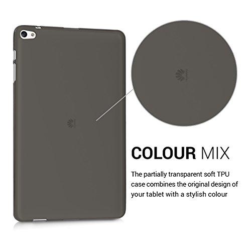 kwmobile Huawei MediaPad T2 10.0 Pro Hülle - Silikon Tablet Cover Case Schutzhülle für Huawei MediaPad T2 10.0 Pro - Schwarz Transparent - 3