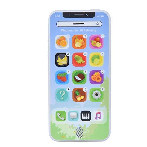 Santing Teléfono móvil Educativo plástico, Juguete del teléfono móvil de los niños, para la educación de Las Muchachas de los Muchachos de los niños