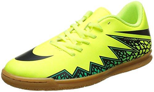 Nike Jr Hypervenom Phade II IC, Scarpe da Calcio Unisex Bambino, Verde (Vert (Volt/Black Hyper Turq Clr Jade), 38 EU
