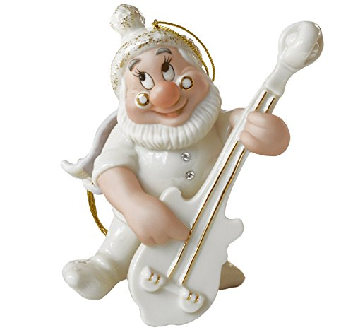 Lenox Snow White and The Seven Dwarfs Doc's Merry Christmas Collectible Figurine Ornament