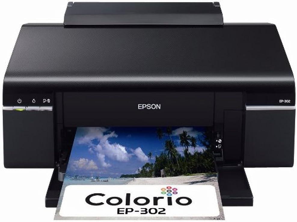 お世話になったヤギ法医学EPSON Colorio インクジェットプリンター EP-302 6色染料インク