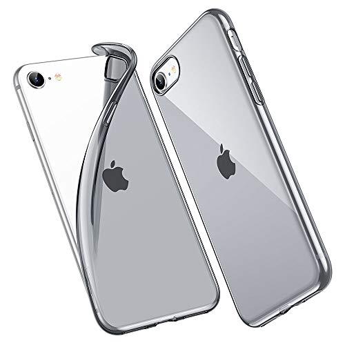 ESR Funda para iPhone 8 /iPhone 7 Transparente TPU [Protección a Bordes y Cámara] [Compatible con Carga Inalámbrica] para Apple iPhone 7/ iPhone 8 de 4.7