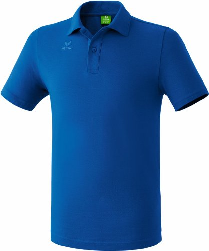 Erima Kinder Teamsport Poloshirt, New royal, 164