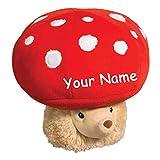 Douglas Personalized Hedgehog Mushroom Macaroon Stuffed Animal Toy with Custom Name