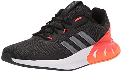 adidas Men's Kaptir Super Trail Running Shoe, Black/Iron Metallic/Carbon, 10