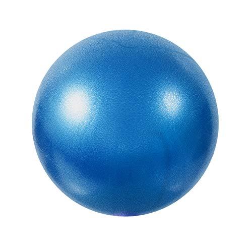 Eachbid Softball Pilates, Pelota de Pilates de 25 cm, Mini Balones Yoga, Pilates Pelota Equilibrio, Pelota de Ejercicios para Gimnasio, Yoga, Masaje y Pilates en Casa, Material Fitness (Azul)