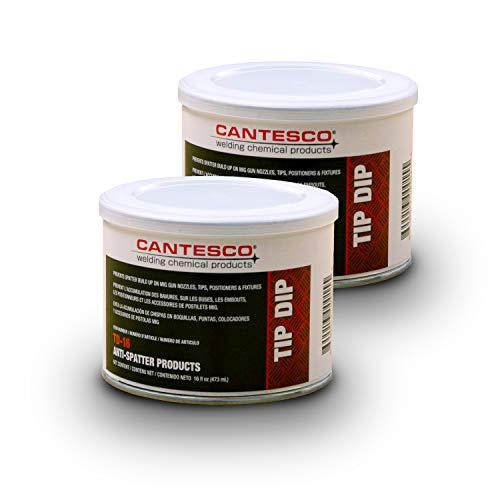 CANTESCO TD-16 Blue Premium Nozzle Tip Dip, 16 oz Jar
