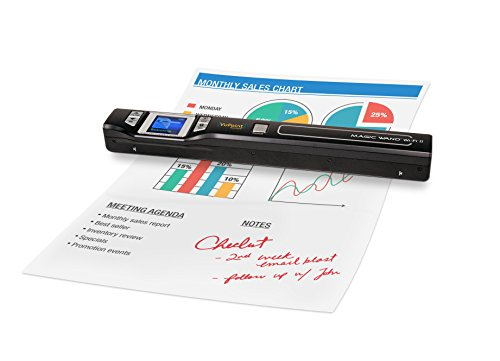 VuPoint Magic Wand Portable Scanner - Document & Image Scanner 8X Zoom ST47 Magic Wand [Portable, LCD Screen, OCR, Mac/PC]