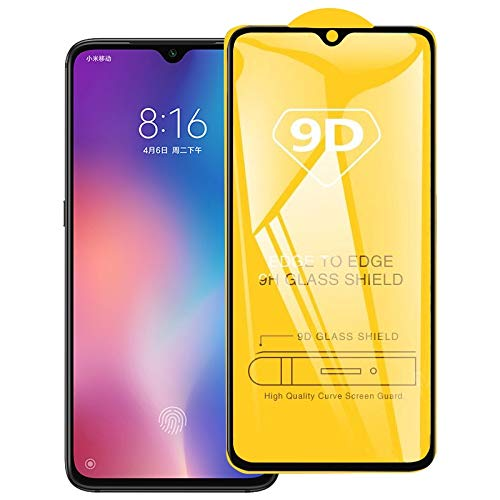 Jiangym Mobile Phone Tempered Glass Film 9D Full Glue Full Screen Tempered Glass Film for Xiaomi Redmi Y3 Tempered Glass Film
