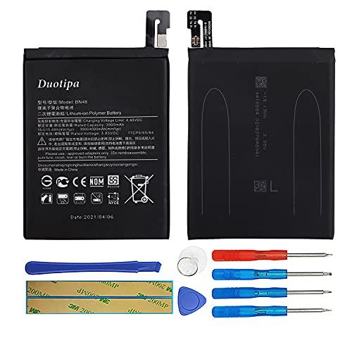 Duotipa Batería de repuesto BN48 compatible con Xiaomi Redmi Note 6 Pro Note6 Pro Batería con herramientas