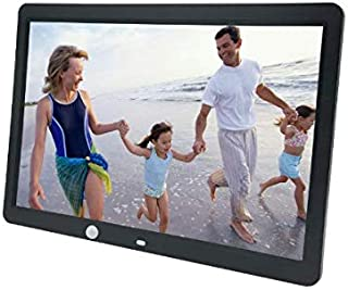 Display Every Perfect Moment Digital Photo Frame 1080p HD Video Playback - Black