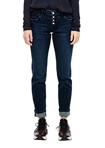 s.Oliver Damen Skinny Jeans, Blau (Indigo Denim Stretch 56z4), 34W / 30L