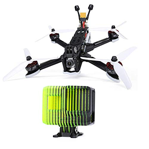 iFlight SL5 V2.1 HD Drone 6s (Built with FPV air Unit) + TPU Camera Mount Protector for Gopro 8.