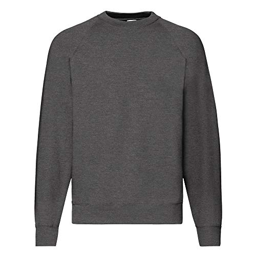 Fruit of the Loom - Sweat - Homme (XL) (Gris foncé chiné)