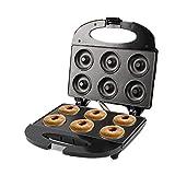 (Hacer 6 A La Vez) Ayudante De Cocina Mini Donut Maker Máquina De Desayuno De Postres Para El Hogar Herramienta De Horneado...