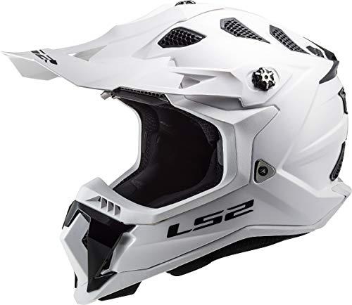 LS2 MX700 SUBVERTER SINGLE MONO GLOSS WHITE 3XL (XXL)
