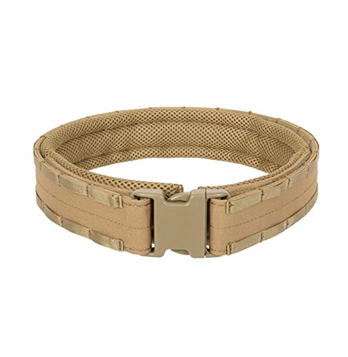 8FIELDS Rigid Raccoon Tactical Combat MOLLE Belt Kampfgürtel Airsoft Light Bundeswehr Army Military (M – Taillenumfang 76-85cm, Coyote)