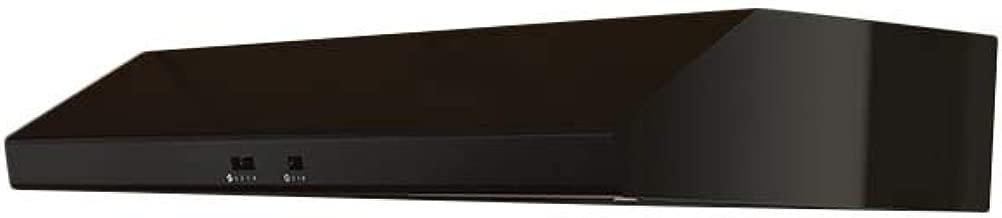 Zephyr AK6500B 600 CFM 30 Inch Wide Under Cabinet Range Hood from the Cyclone Se, Black