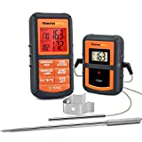 ThermoPro TP08S Wireless Digital Meat Thermometer for Grilling Smoker BBQ Grill Oven Thermometer...