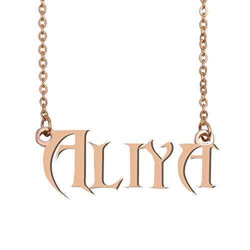 GR35Z9 Personalized Name Necklace Jewelry