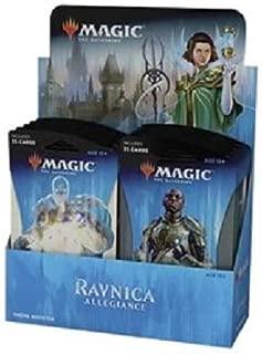 Magic The Gathering Ravnica Allegiance Theme Guilds Booster Box: 10 Jumbo Packs!