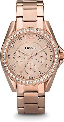 Fossil RILEY ES2811 Reloj de Pulsera para mujeres Con Zircones