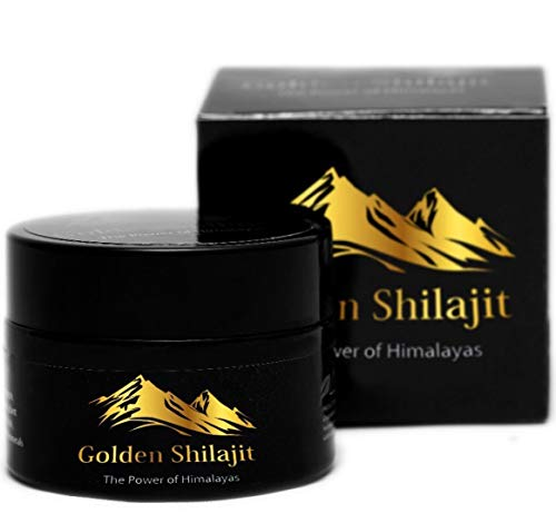 Golden Shilajit Fresh Resin - 100 Grams - World's Finest Shilajeet Guaranteed Directly from It's Origin -