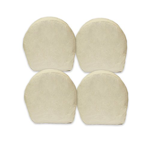 ABN Canvas Wheel Covers - 42 Inches, Set of 4, Best for RV, Car, Camper, Trailer, Truck, SUV