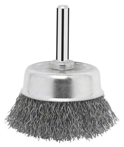 Bosch Topfbürste für Bohrmaschinen, gewellter Draht, Ø 50 mm, 2607017124