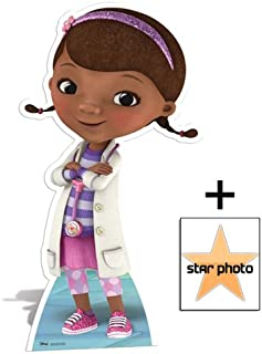 Fan Pack - Doc McStuffins Lifesize Cardboard Cutout / Standee - Disney - Includes 8x10 (20x25cm) Star Photo