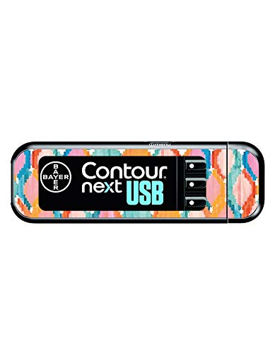Diabetes Vinyl Sticker Bayer Contour Next USB - Balinese summer