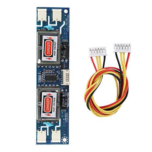 Diyeeni Inverter Board, 10-28V 4 Birne 6PIN Feine Kunstfertigkeit Hochdruck Inverter Board, CCFL Inverter Board für 10-26 Zoll LCD-Bildschirm mit Hintergrundbeleuchtung
