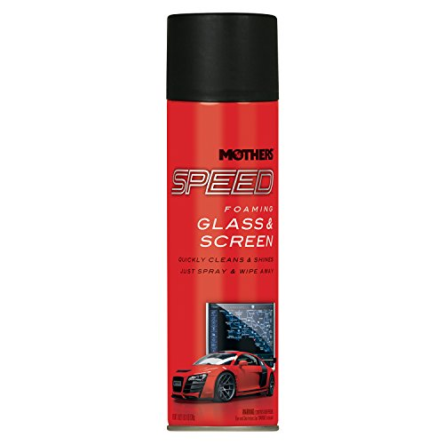 Mothers 16619 Speed Foaming Glass & Screen Cleaner, 19 oz.