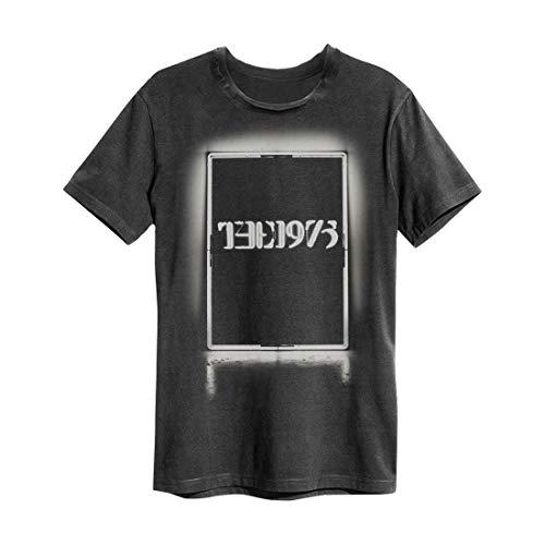 Amplified 1975 Neon Seven Five Herren T-Shirt kurzen Ärmeln anthrazitfarbener (XXL)