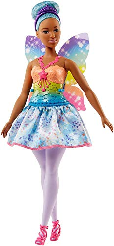 Azul Boneca Fada Barbie - Mattel FJC87