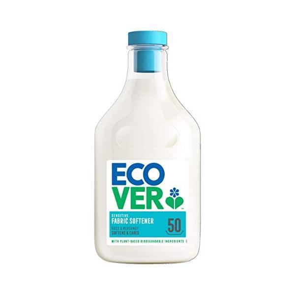 Ecover Fabric Softener Rose & Bergamot, 50 Wash