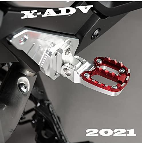 バイク ステップ フットペグ バイク フットペグ フットレスト ワイド 左右セット ホンダ XADV 750 X-ADV 750 XADV750 XADV 2021対応