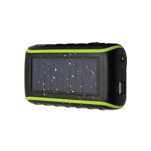 3 en 1 10000mAh Solar Power Bank, Herramienta de emergencia Desarrollado por la manivela del generador con doble puerto USB cargador portable al aire libre, conveniente for el recorrido y acampar