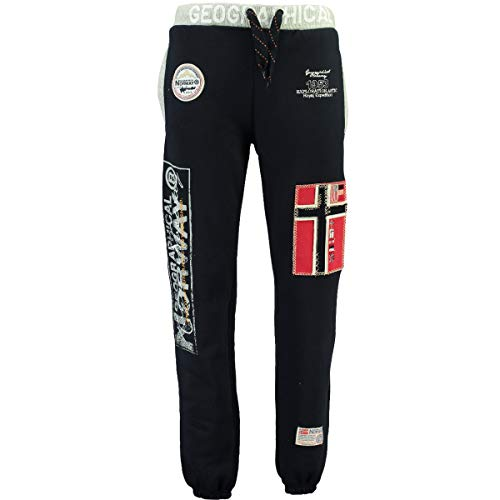 Geographical Norway Myer Jogg-Pants con parches para hombre azul marino XXXL