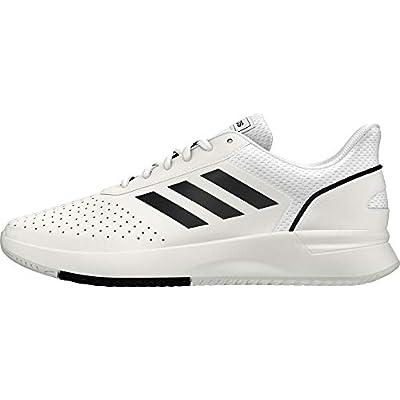 Adidas COURTSMASH, Zapatillas de Tenis Hombre, Blanco (Ftwbla/Negbás/Gridos 000), 46 2/3 EU