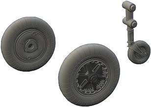 EDU648295 1:48 Eduard Bf 109G-2 Wheels (for use with the Eduard model kit) [MODEL KIT ACCESSORY]