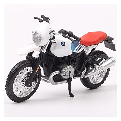 El Maquetas Coche Motocross Fantastico 1:18 Para BMW R NineT Urban GS Motocicleta Roadster Modelo Fundido Vehículos Juguete Réplica Miniatura Exhibición Colección Para Adultos Regalos Juegos Mas Vendi