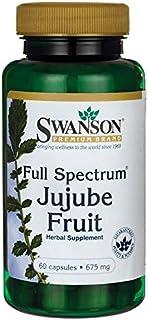 Swanson Full-Spectrum Jujube Fruit 675 Milligrams 60 Capsules
