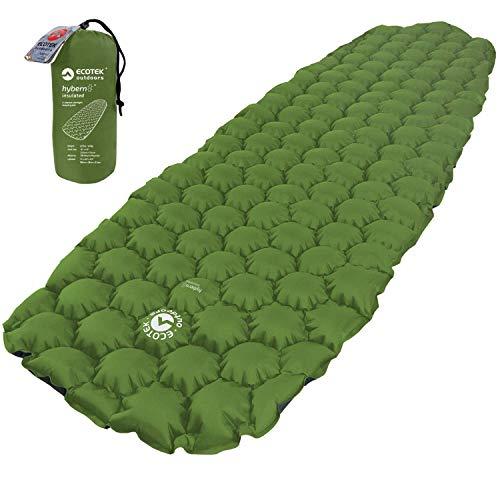 ECOTEK Outdoors Insulated Hybern8 4 Season Ultralight Inflatable Sleeping Pad
