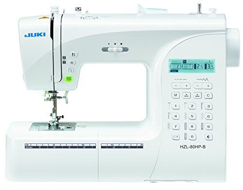 JUKI máquina de Coser electrónica, Metal, Blanco, 40x 18,8x 29cm