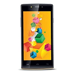 iBall iBall Andi 4.5 OBuddy Android Mobile Phone with 5 inch Screen (Gold)