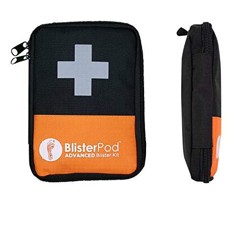 BlisterPod Advanced Blister Kit (18 Pc. Set) | Made for Sport & Outdoors | Foot Blister Prevention and Treatment, Heel to Toe | Pack Light for Travel, Hiking, Running, Hockey, Soccer, Golf.
